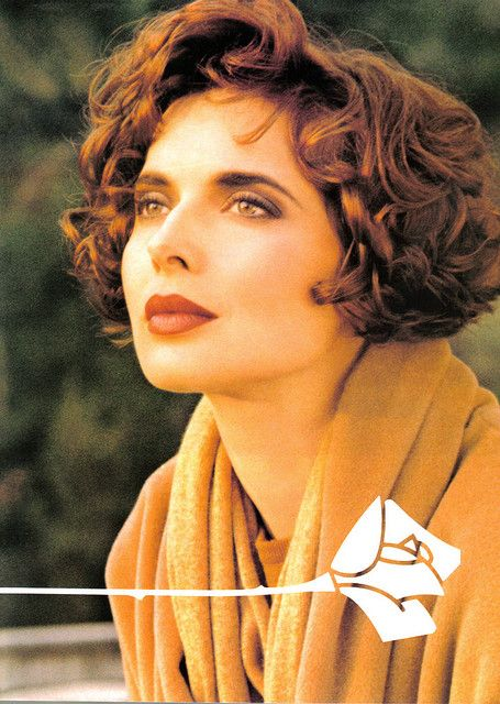 SHE'S BACK: ISABELLA ROSSELLINI FOR LANCOME - Catherine ...