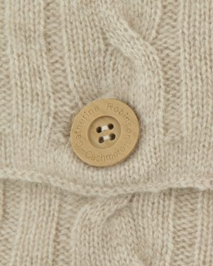 CASHMERE CUSHION - SOFT OATMEAL
