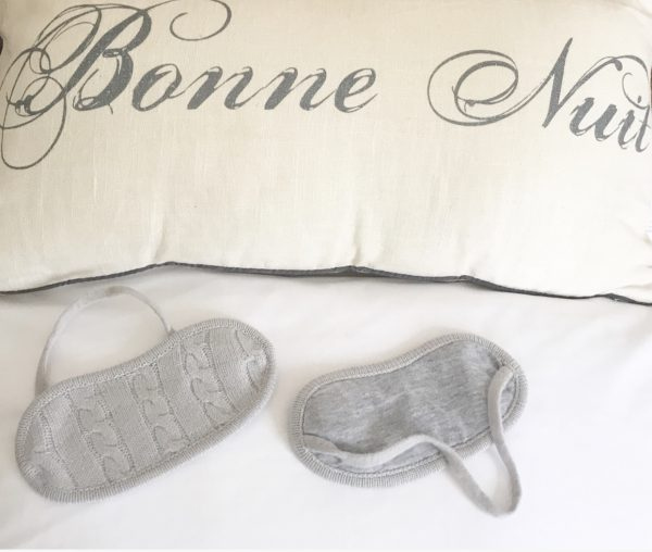 Cashmere Eye Mask - Cloud