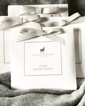 Grace Scented Sachets by Catherine Robinson