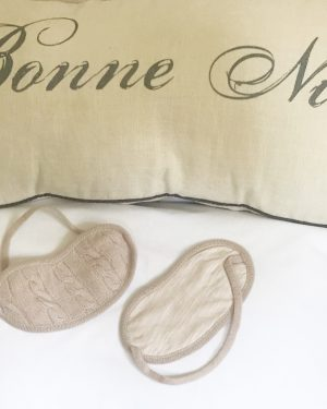 Cashmere Eye Mask - Rose