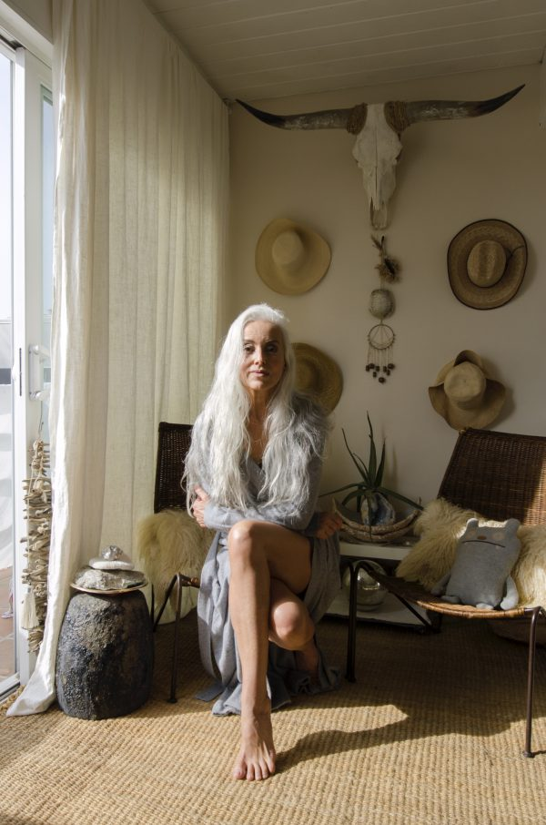 Cashmere Robe - Grey Pearl