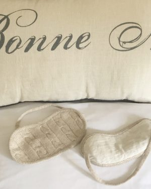 Cashmere Eye Mask - Soft Beige