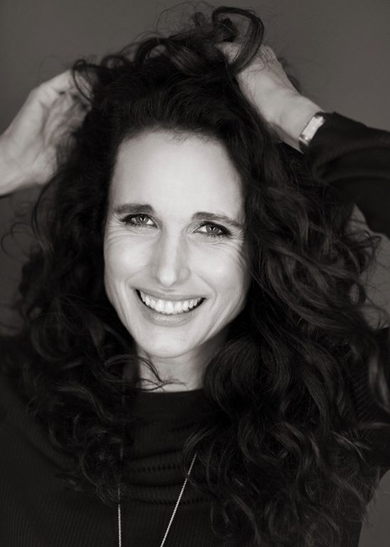 THE AGE OF BEAUTY: Andie MacDowell