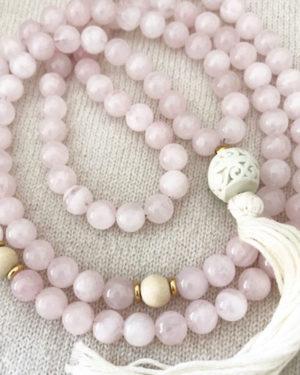 Catherine's Yoga Pick: Mala Beads