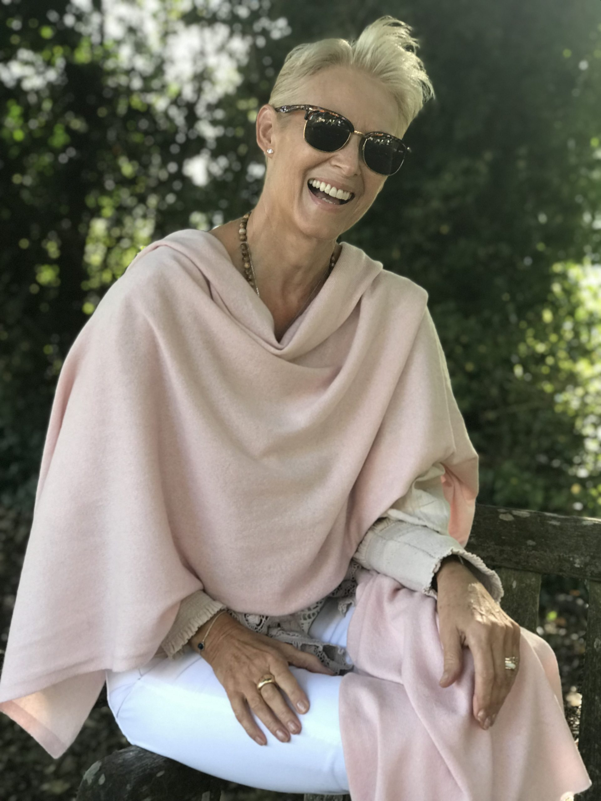 Cashmere Classic Wrap Soft Pink