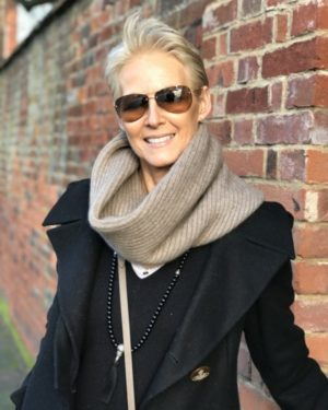Ribbed Knit Cashmere Snoods